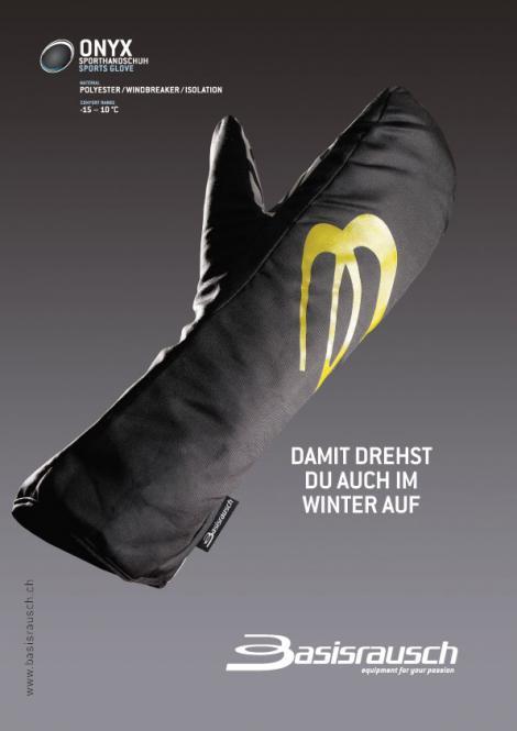 Gleitschirm Handschuh Überzieher Onyx 4-Saison overglove