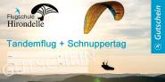 Gutschein Tandemflug und Schnuppertag